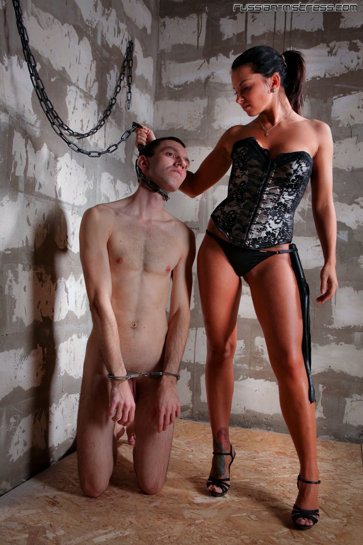 Humiliation in chains