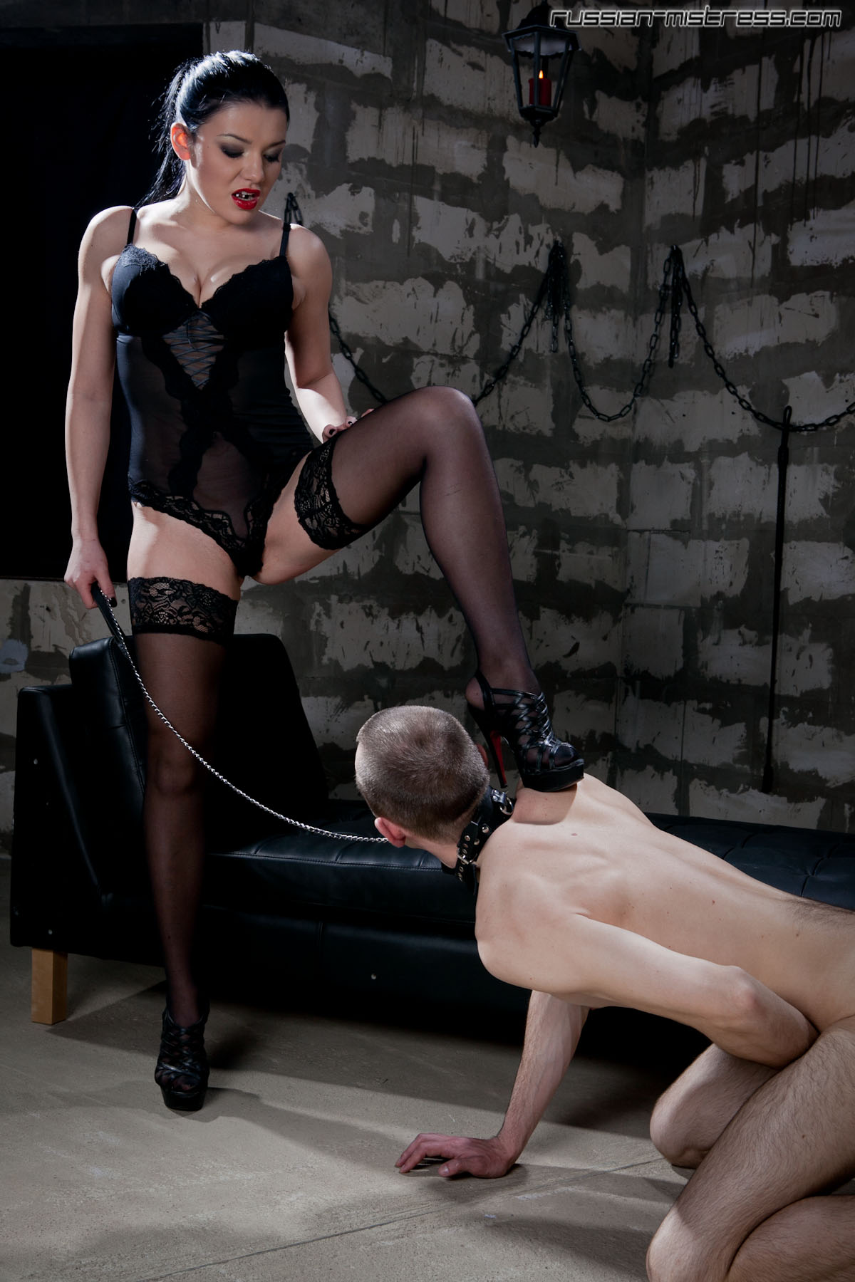 russian strapon sissy