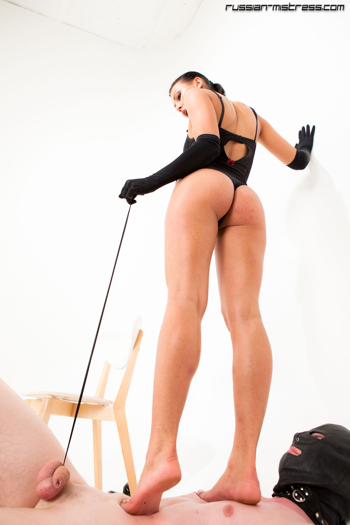 Has Mistress trampling Domination watching